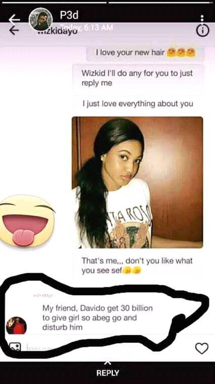 5135420 30billion jpegacc107d4d2d17d27f30450b67ea94341 - Wait Oh!! Did Wizkid Just Give Davido One Of His Fans As A Girlfriend? (photo)