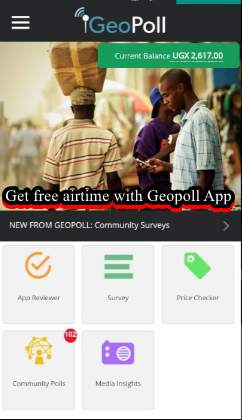 geopoll app download how to earn free airtime with geopoll app