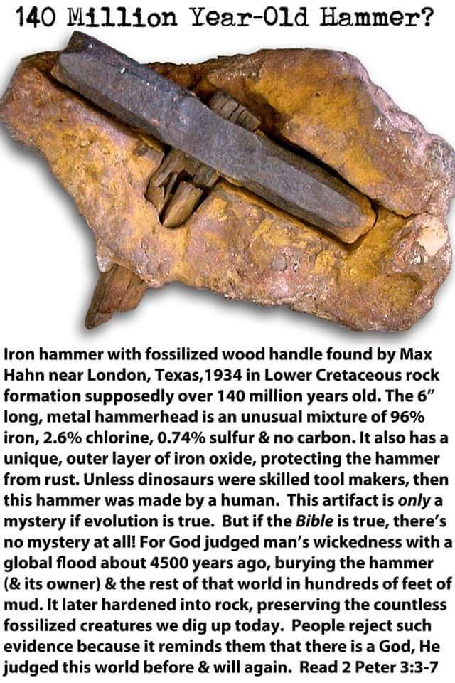 The london hammer carbon dating