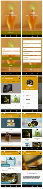 Android Ecommerce Shopping App Source Code - Programming