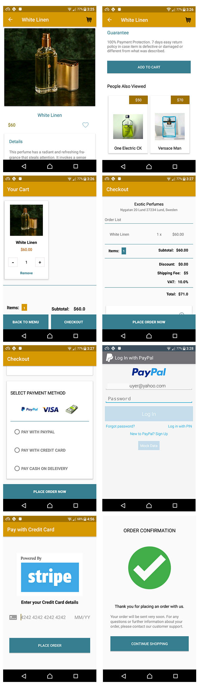 Android Ecommerce Shopping App Source Code - Programming - Nigeria