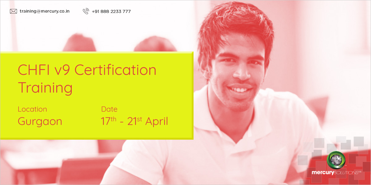 CHFI V9 Certification Training Bootcamp In India - Software ...