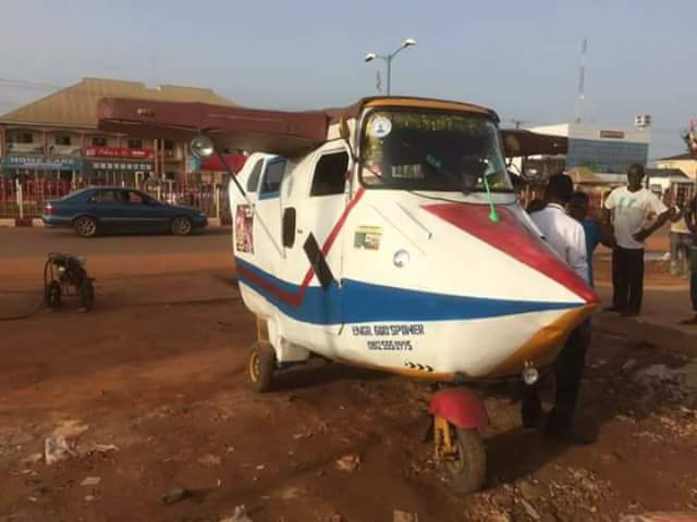 5145204 fbimg1491995807033 jpegd1ccf9f6b039f898cf47291ee50994a5 - Nigerian Youth Who Converted Keke To An Aeroplane Becomes Online Sensation (Photos