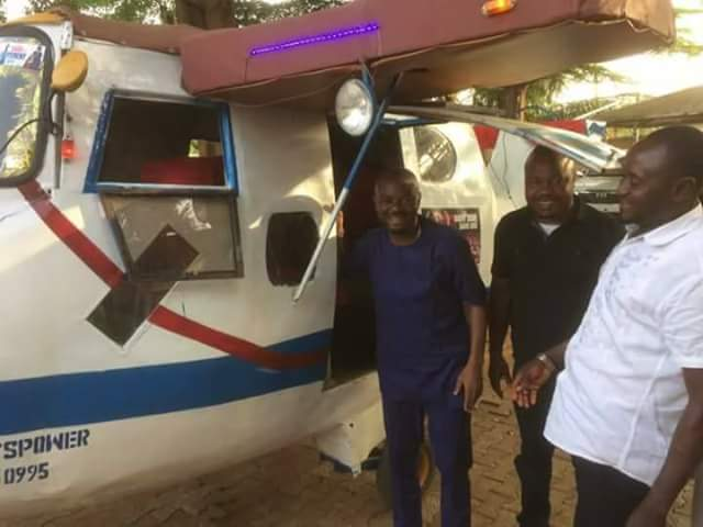 5145205 fbimg1491995817008 jpeg5917b447f7e5332293e05b378740b375 - Nigerian Youth Who Converted Keke To An Aeroplane Becomes Online Sensation (Photos