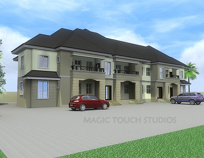 Architectural designs for nairalanders who want to build for 4 bedroom flat design