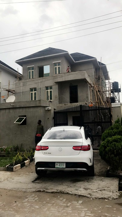 Davido Shows Off Their Lekki House Being Renovated (Photos
