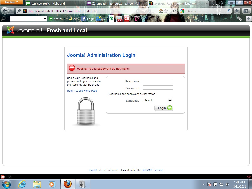 how to create webmail login web page
