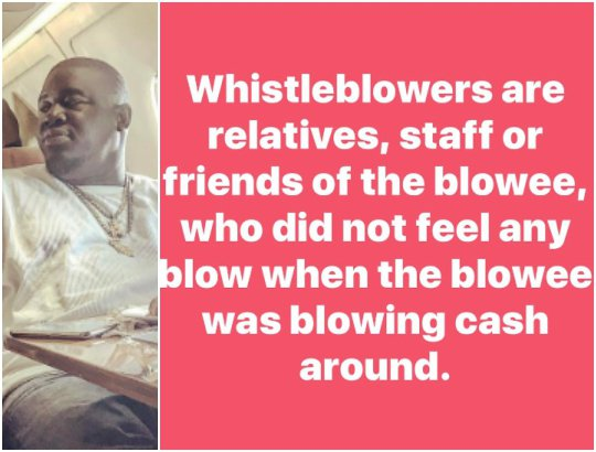Culled From: Http://enigeria.com.ng/see Epic Definition  Whistle Blowers Kcees Manager Soso Soberekon Photo/