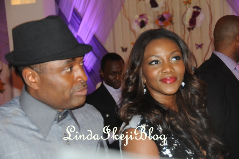 Pictures Of Celebrities At Mercy Johnson S Wedding Nairaland