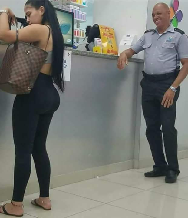 POLICE MAN SPOTTED STARRING