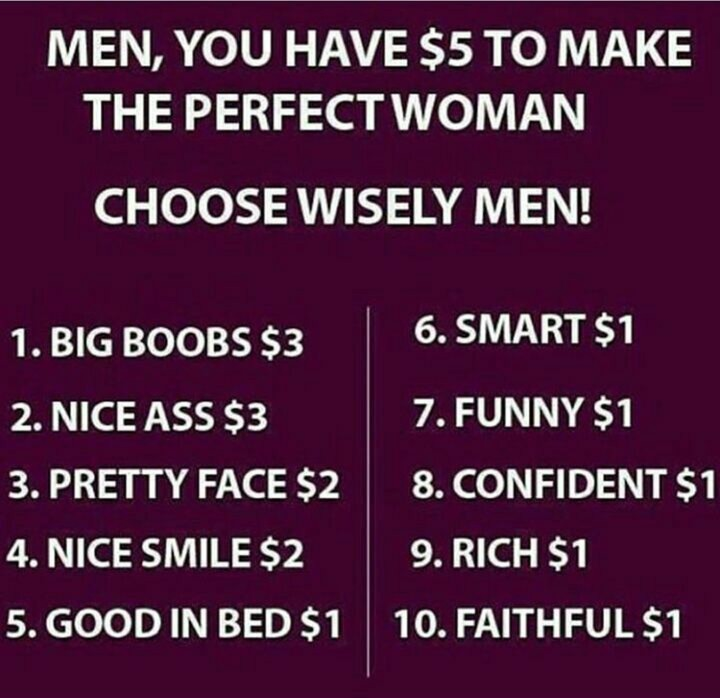 Create your perfect woman