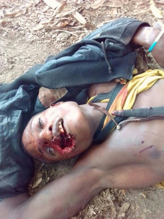 Notorious Cult Leader Killed In Owo, Ondo State (Graphic Photo)