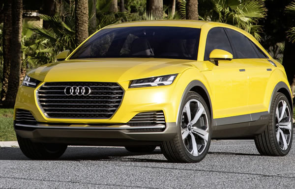 2019 Audi Q4 Will Challenge Bmw X4 And Benz Glc Coupe