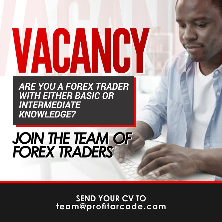 Forex trader job vacancy