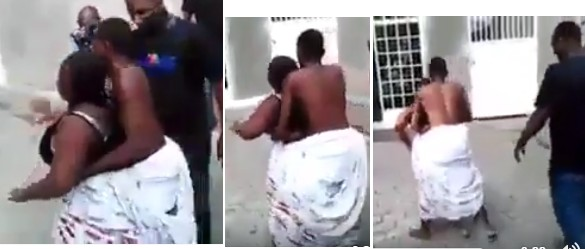 Man Stuck Inside His Friend's Wife During Sex From The Back (Photos, Video)