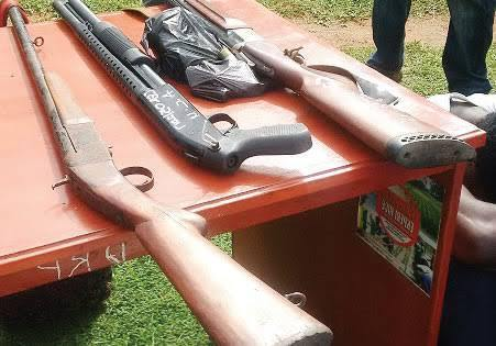 Ambrose Alli University Lecturers Arrested For Cultism, Guns Recovered (Pic)