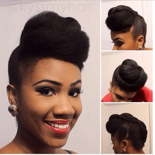 Natural Hairstyles For Bridesbridesmaids Photos Fashion Nigeria