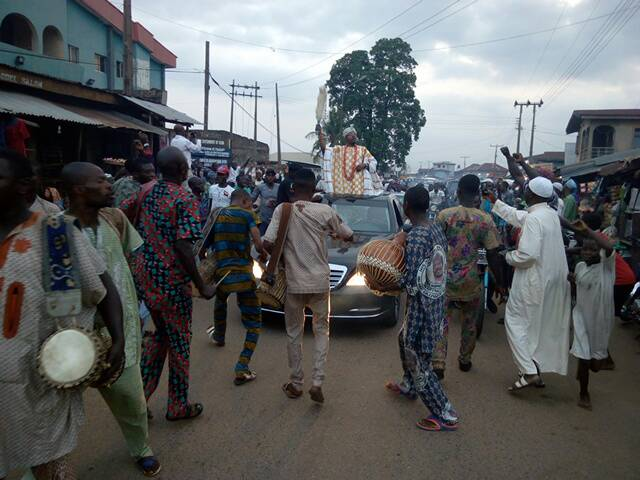 See How Iwo Community Received Oluwo Of Iwo, Oba Abdul Rasheed ...