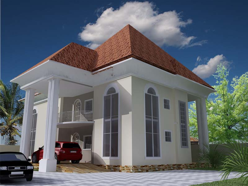 House plans and design architectural designs nigeria for Modern duplex house plans in nigeria