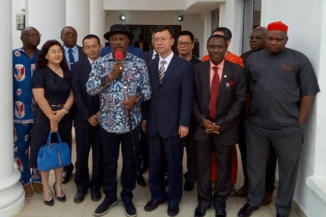 Image result for China Plans Visa Office In Anambra As Chinese Deputy Consul-General Visit Obiano