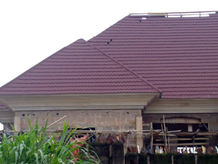 Modern roofing designs in nigeria modern house for Modern roof design types