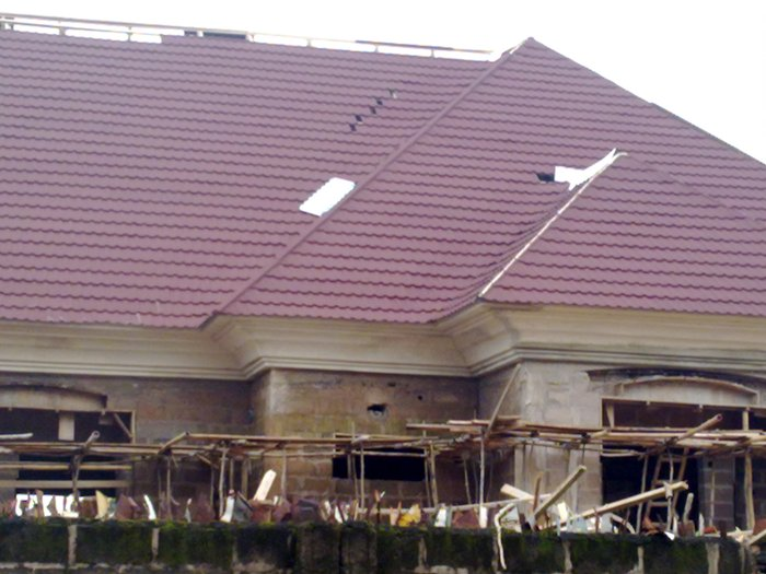 Parapet Concrete Fascia And Other Roofing Styles Properties Nigeria