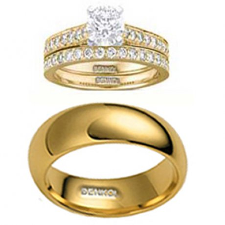 18k Gold Rings Set For As Low As N70k. Call 08033119331. - Adverts ...
