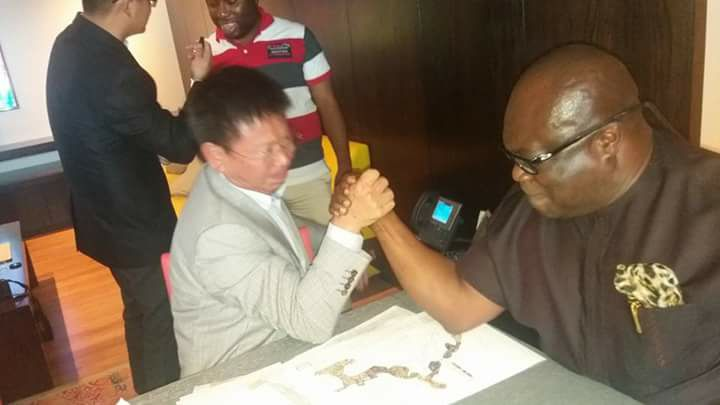 Image result for gov ikpeazu and chinese investor