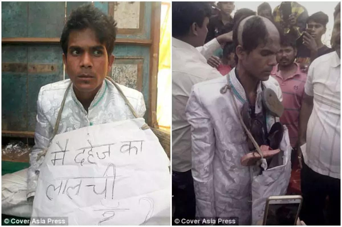 Indian Woman Divorces Greedy Husband After 3 Hours & Remarries The Same Day (Pics)