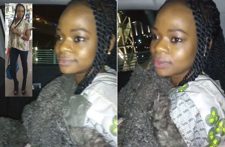 "VIDEO: ""I Thought They Put AC Outside"" Says Olajumoke Shivering As She Arrived In South Africa"