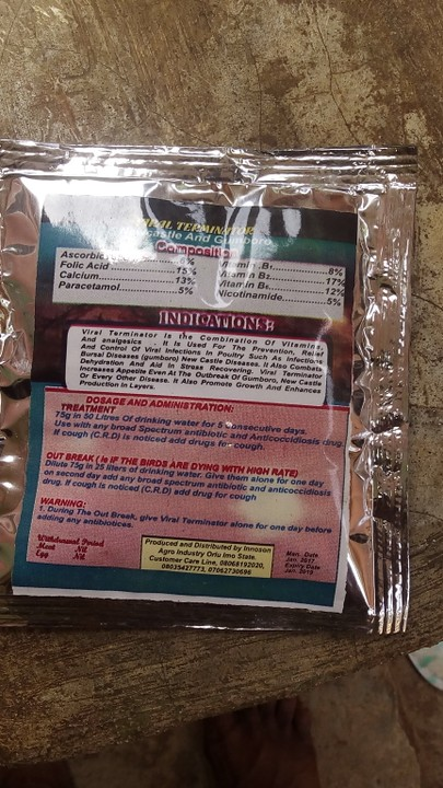 Cure To Gumboro And Newcastle Disease In Poultry Under 5 Hr