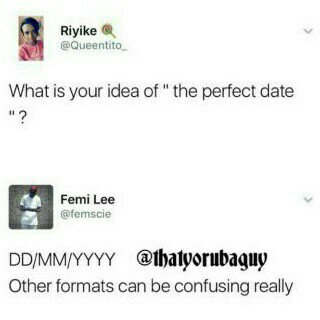 a lady asks what s the idea of a perfect date see funny reply