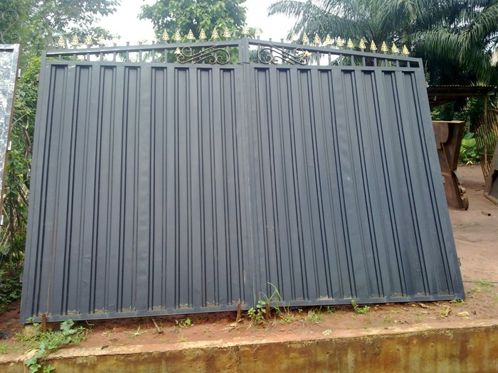Modern fence gates in nigeria