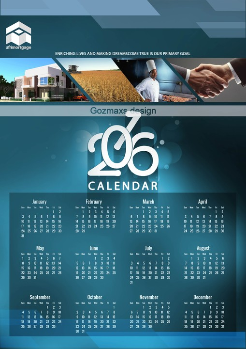 Church Calendar Design.Logos Fliers Posters And Other Graphic Designs Art Graphics