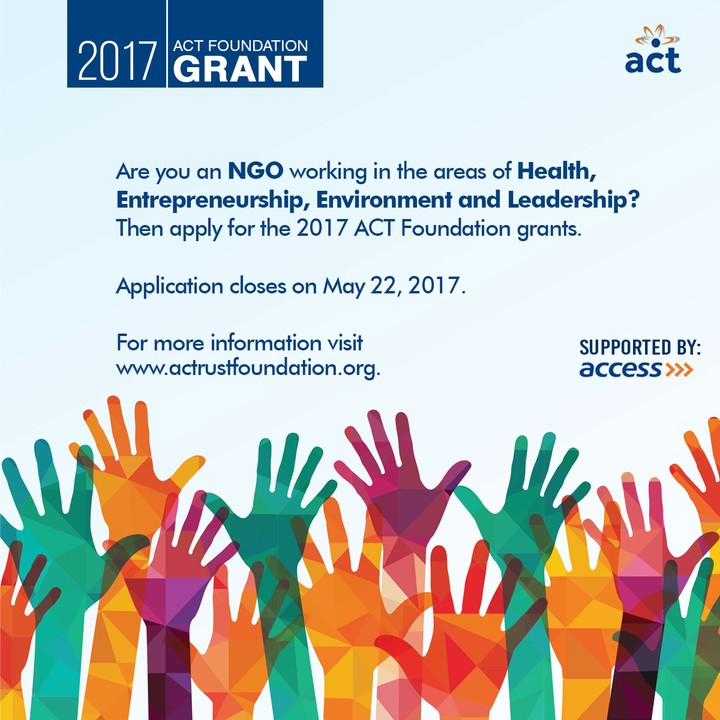 Image result for act foundation grant