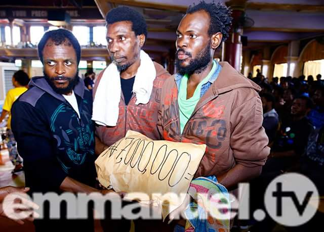 See What TB Joshua Did For 258 Libya Deportees & The Huge