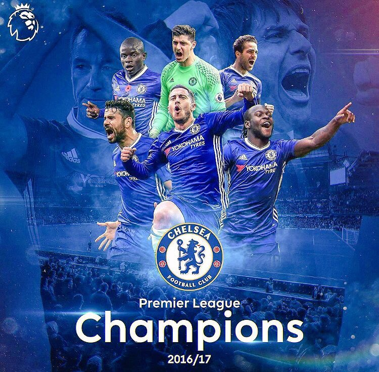 CONGRATULATIONS!! Chelsea Is EPL 16/17 Champion : See Review And Photos