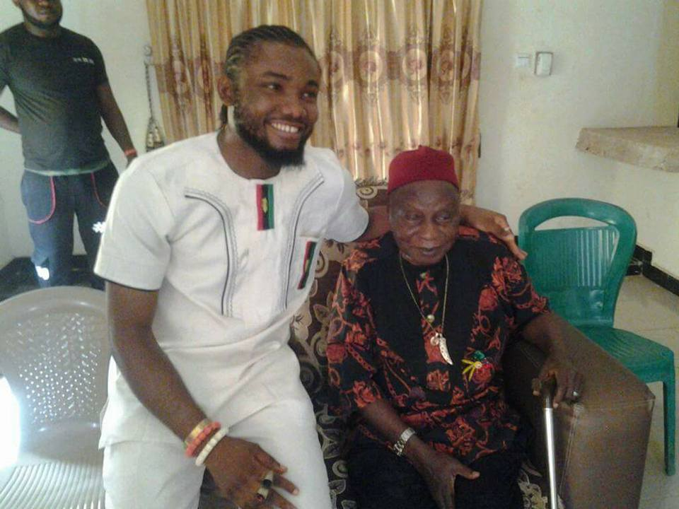 Nnamdi Kanu Blesses Artiste Who Was Arrested After His ...