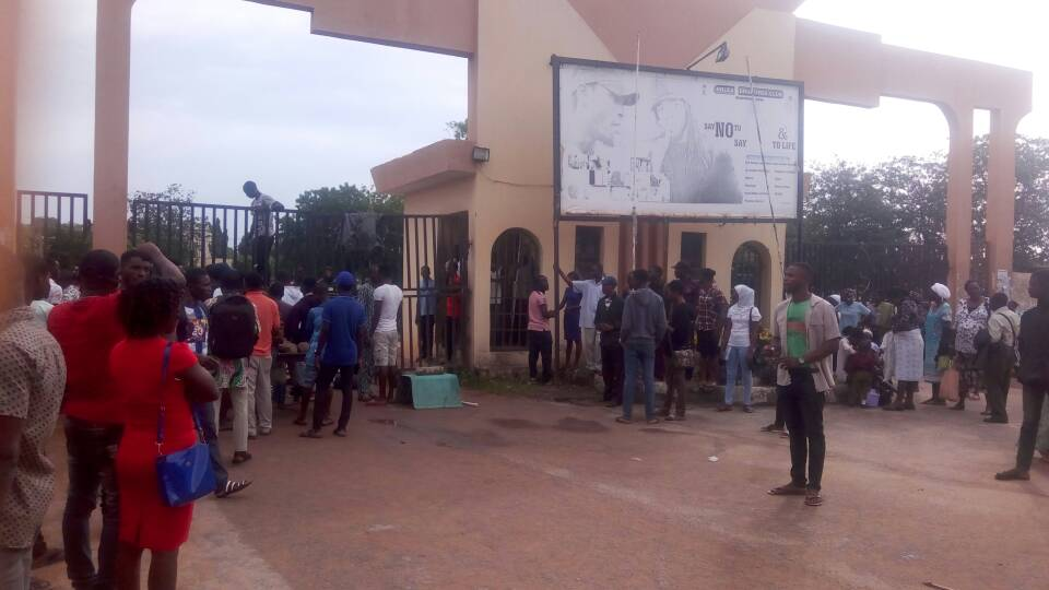 JAMBITES not allowed as LAUTECH locked down again