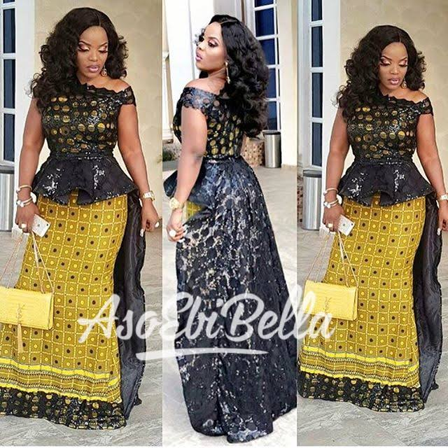 Http Africanankarastyle Blo Ng 2017 05 Stunning Ankara With Lace Style In Html