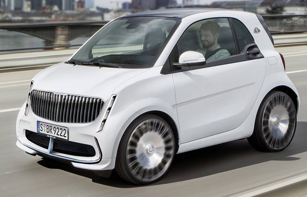 Experience The Maybach Smart Fortwo - Photos