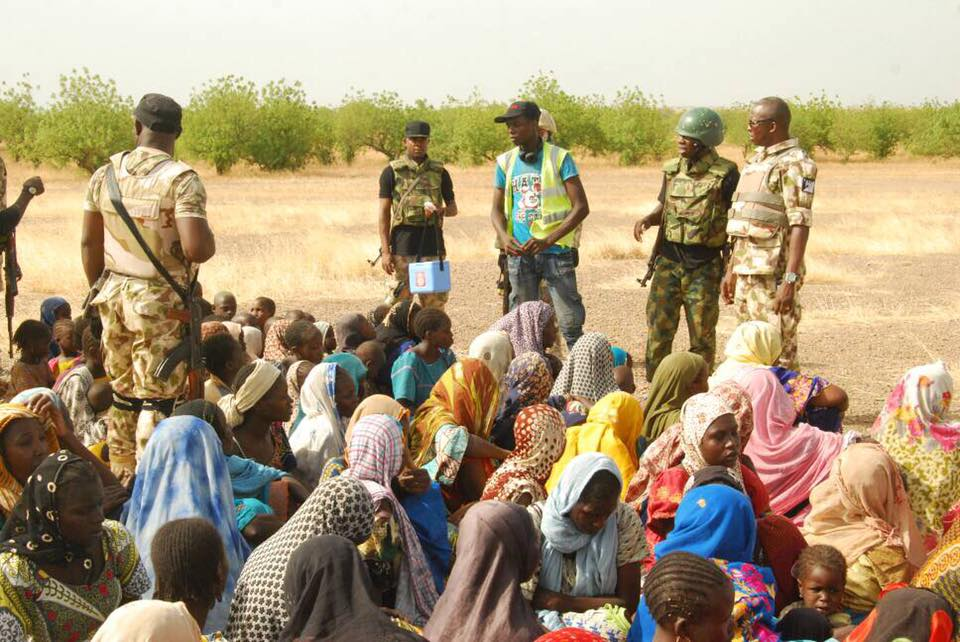 Soldiers Rescue 998 Persons From Boko Haram Captivity