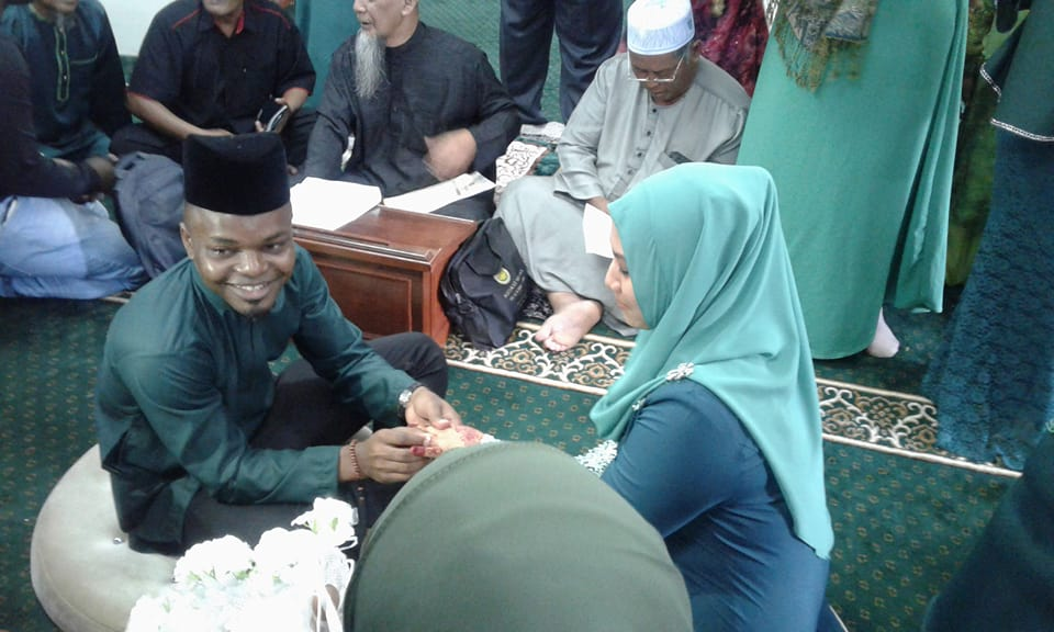 Wedding Of Igbo Man In Malaysia To A Muslim Woman (Photos ...