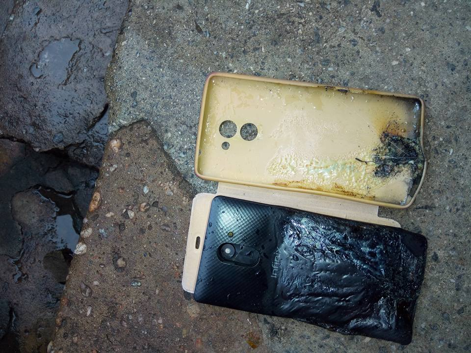 Lady's Infinix Hot 4 Explodes In Her Pocket, Causes Burns On Her Leg 5351221_1851971322722744796643607993769701327124550n_jpg467a1d4eb0ad6de934981dcd9f340523