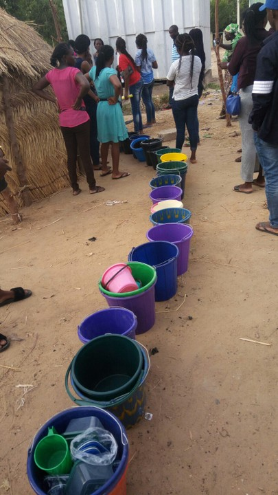 Jigawa Corpers Queue To Get Water From The Tap At NYSC Camp 5365190_tmpcam246518289_jpegfb32e300db64d3453591d1745ce142dd