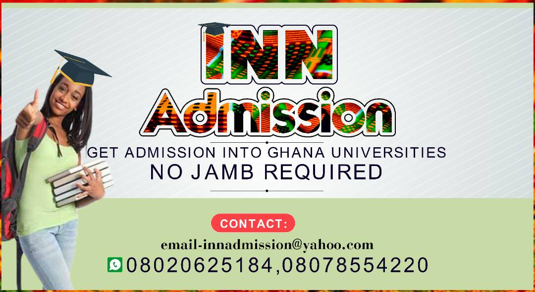 how to gain admission into any ghana university