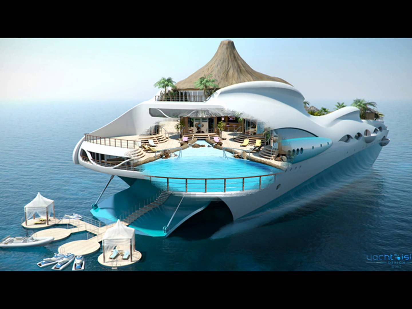 Modern House Designs And Floor Plans Tropical Island Yacht Design Decoration