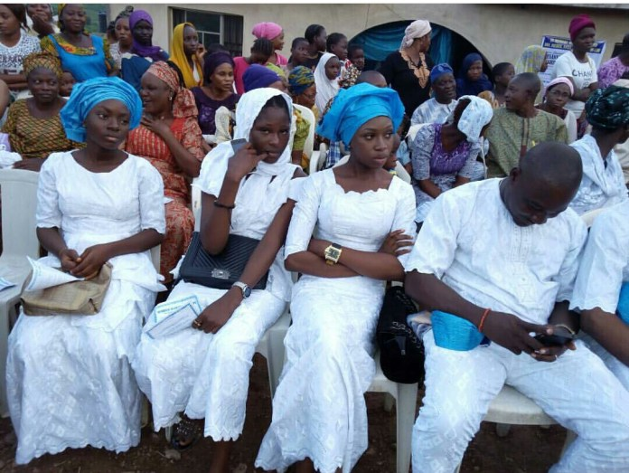 Image result for Photos From Late Actor Ajidara's Wake Keeping In Abeokuta