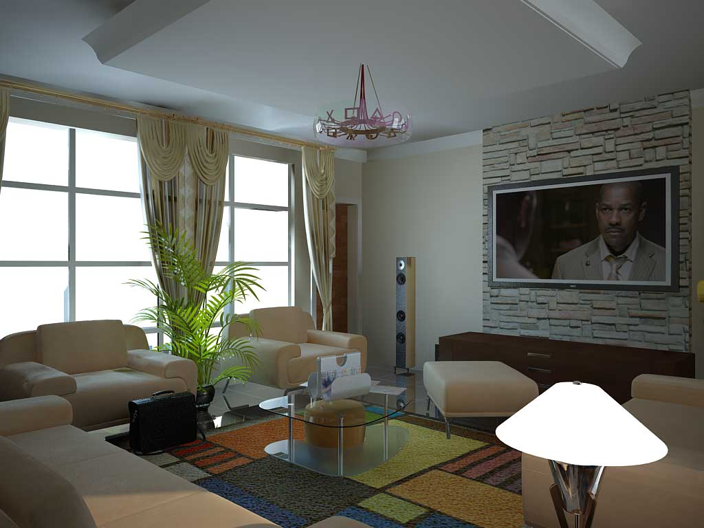 Pictures of interior decoration living room in nigeria for Nigeria window design