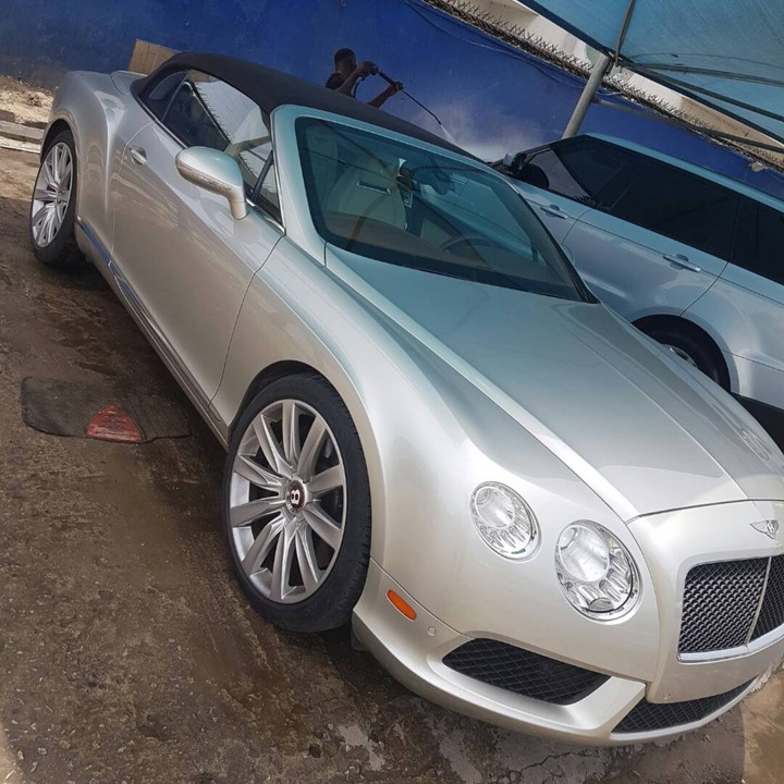 Clean 2013 Bentley Continental Convertible Gtc..price 75m